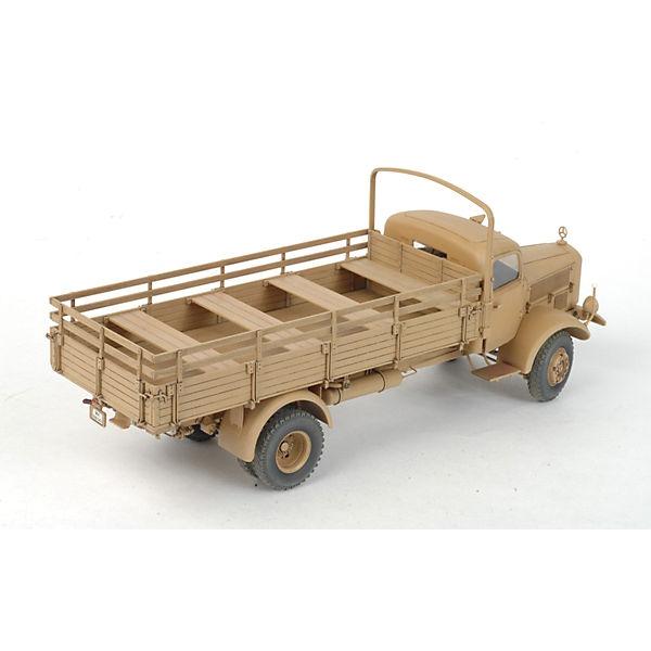 """Сборная модель Звезда """"Немецкий тяжёлый грузовик L4500A, 1:35 (подарочный набор)"""