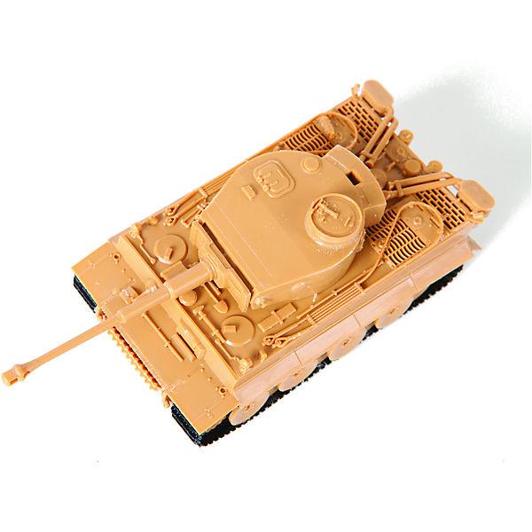 """Сборная модель Звезда """"Великие противостояния. Тигр против Ис-2"""", 1:72"""