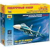 """Сборная модель Звезда """"Самолет Су-27"""", 1:72 (подарочный набор)"""