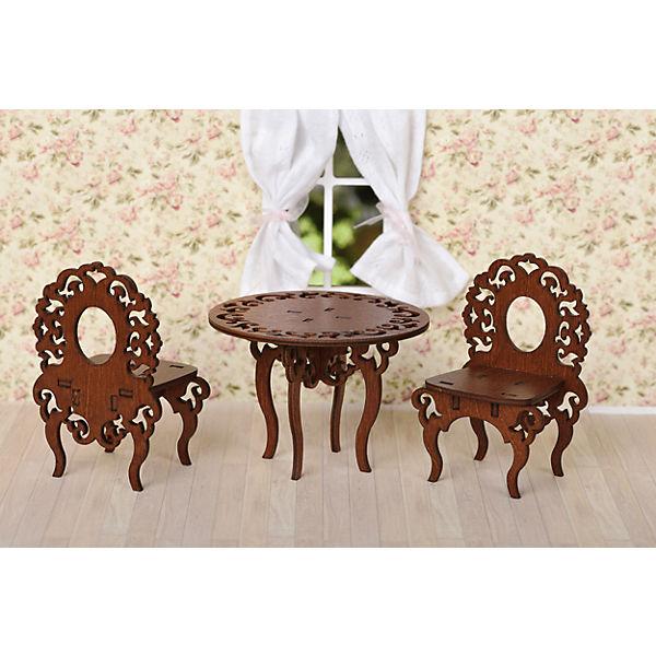 Комплект мебели ЯиГрушка Стол с двумя стульями