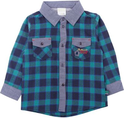 Рубашка Sweet Berry для мальчика - зеленый