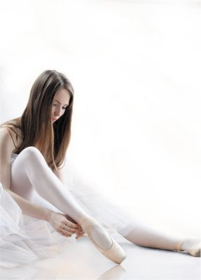 Колготки Knittex для девочки - белый