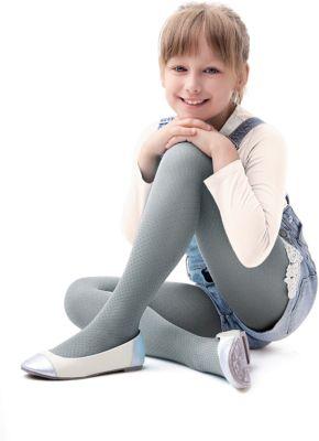Колготки Knittex для девочки - серый