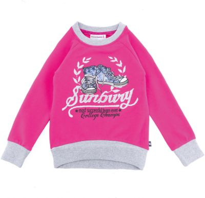 Толстовка Sweet Berry для девочки - розовый