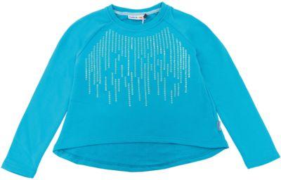 Толстовка Luminoso для девочки - голубой