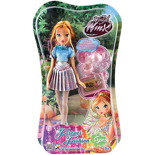"Кукла Winx Club ""WOW Лофт"" Флора, 35 см"