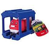 Паровозик Jazwares Chuggington, Ашер с гаражом