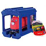 Паровозик Jazwares Chuggington, Джекман с гаражом