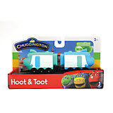 Паровозик Jazwares Chuggington, Хут и Тут