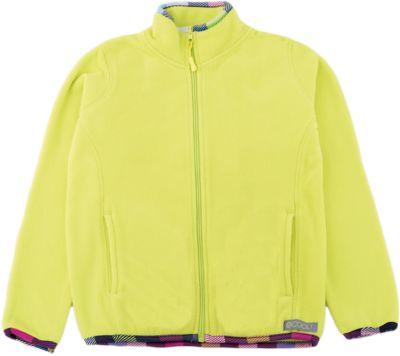 Флисовая толстовка S'cool для девочки - желтый