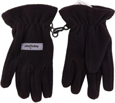 Перчатки PlayToday для мальчика - черный