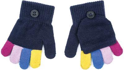 Перчатки PlayToday для девочки - белый