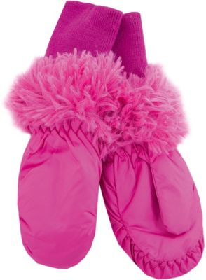 Варежки PlayToday для девочки - розовый