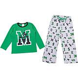 Комплект: футболка с длинным рукавом и брюки PlayToday для мальчика