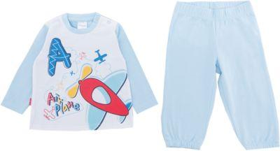 Комплект: футболка и брюки PlayToday для мальчика - белый