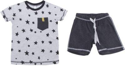 Комплект: футболка и шорты PlayToday для мальчика - белый