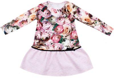 Платье Апрель для девочки - розовый