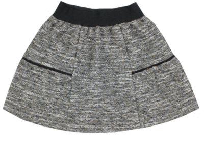 Юбка Апрель для девочки - серый