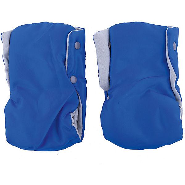 Рукавички для санок Ника РС2, Совята голубой