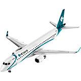 Сборная модель Пассажирский самолет Embraer 195 1:144