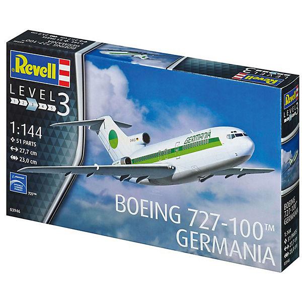 Пасскажирский самолет Boeing 727-100 авиакомпании Germania