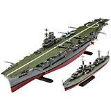 Авианосец Королевских ВМС Великобритании и эскадренный миноносец типа «Трайбл»