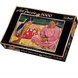 1000 -Арт пазл- Поль Гоген Таитянские женщины на пляже