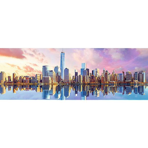 Пазлы панорамные «Манхеттен», 1000 деталей