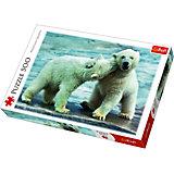 Пазлы Белые медведи, 500 элементов