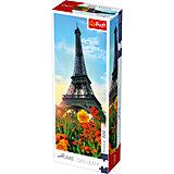 Пазлы Эйфелева башня среди цветов, 300 элементов