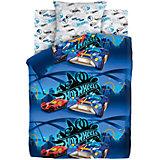 Комплект постельного белья 1.5 бязь Hot Wheels (70х70) Найт Сити
