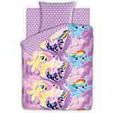 Комплект постельного белья 1.5 бязь My Little Pony (70х70)  Небесные пони