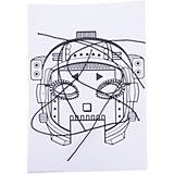 """Набор игровой для творчества """"Мила и Феля - Маски-раскраски - Роботы"""""""