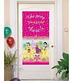 """Баннер на дверь """"Принцессы Disney - Летний замок"""""""