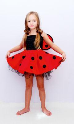 Детский маскарадный костюм для девочек арт.30996, из полиэстра, трикотаж