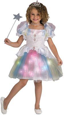 Детский маскарадный костюм для девочек из полиэстра, трикотаж