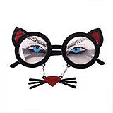 Карнавальные очки Кошечка из пластика