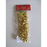 Новогодняя гирлянда Золотые колокольчики из полистирола, 76097