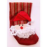 Украшение новогоднее подвесное Дед Мороз в Колпаке арт.42534 из полиэстра