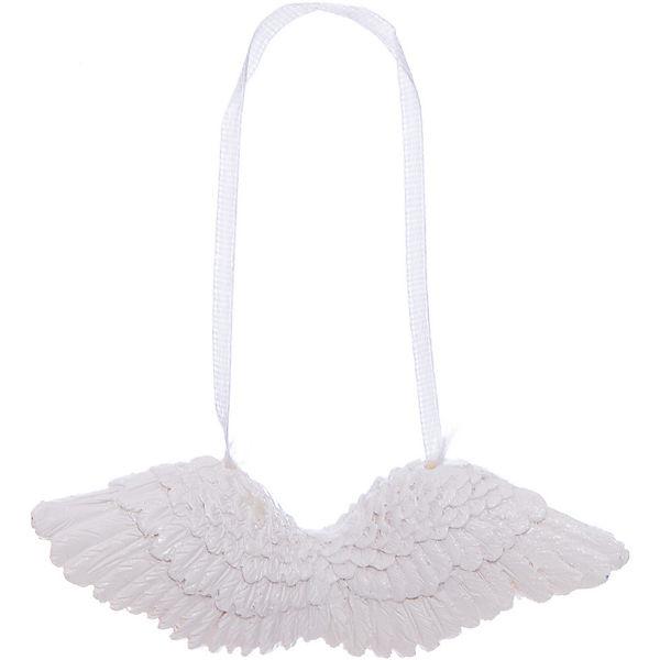 Новогоднее подвесное украшение Крылья из полирезины