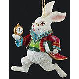 """Украшение на елку ErichKrause """"Белый кролик"""", 9 см"""