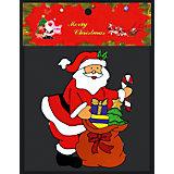 """Наклейка на окно ErichKrause """"Санта XXL"""", 30х37 см"""