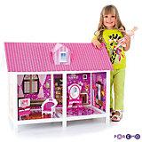 1-этажный кукольный дом