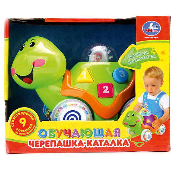 """Развивающая черепашка-каталка Умка """"Львенок и Черепаха"""", свет звук"""