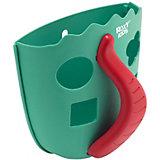 Органайзер для игрушек в ванную Roxy-Kids Dino, мятный