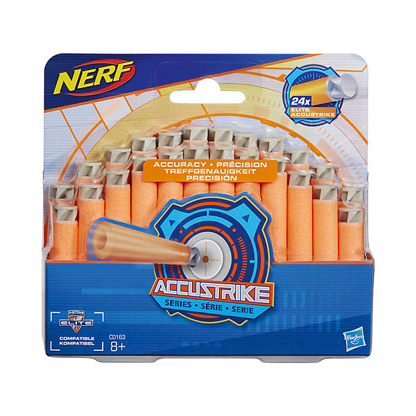 Стрелы для бластера Hasbro Nerf Акустрайк, 24 стрелы