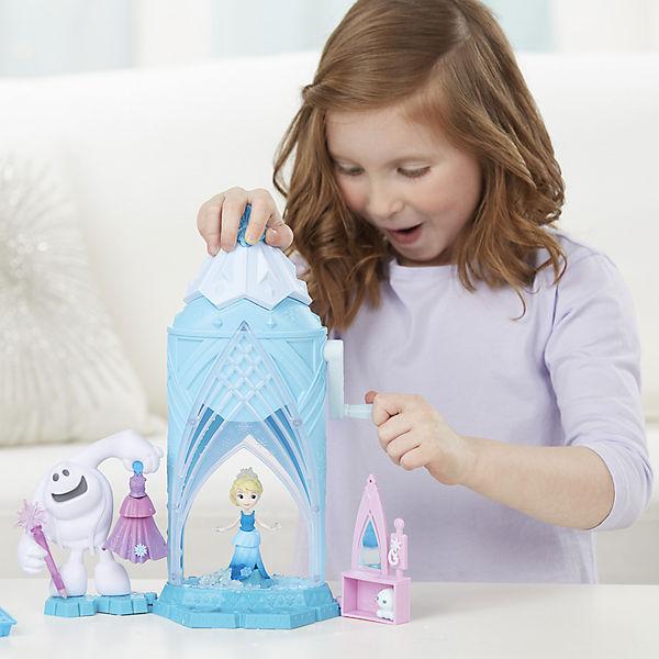 Игровой набор Hasbro Disney Frozen, Замок Эльзы сделай вошлебный снег