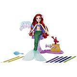"""Кукла Hasbro Disney Princess """"Модная кукла"""" Ариэль в салоне королевских лент"""