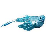 """ёл. укр. """"BIRD OF PARADISE"""" птичка двухвостик на клипе, 8,5 см., 1шт, в ассорт"""