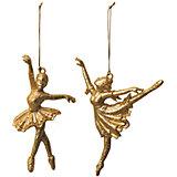 """ёл. укр.""""CLASSIC GOLD"""" балерина, 14,5см, 2шт, золотая"""